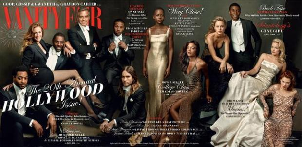 SNEAK PEEK: VANITY FAIRS 2014 HOLLYWOOD ISSUE COVER