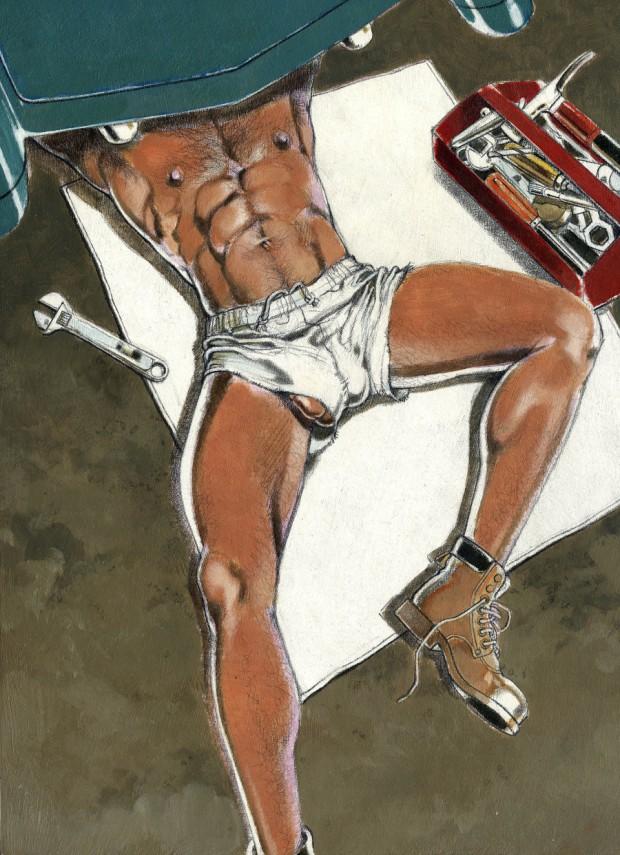 Exhibit Showcases The Erotic Beauty Of Vintage Gay Magazine Art (NSFW)