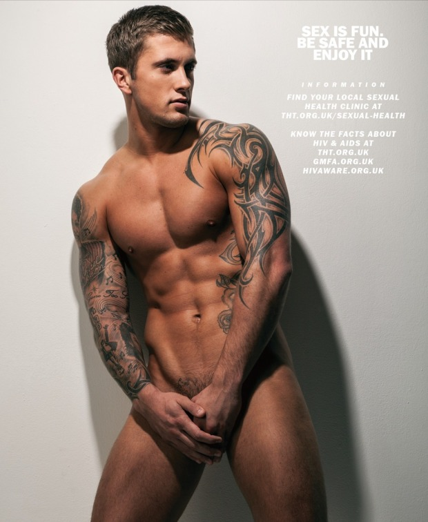 DAN OSBORNE STRIPS DOWN WITH ATTITUDE