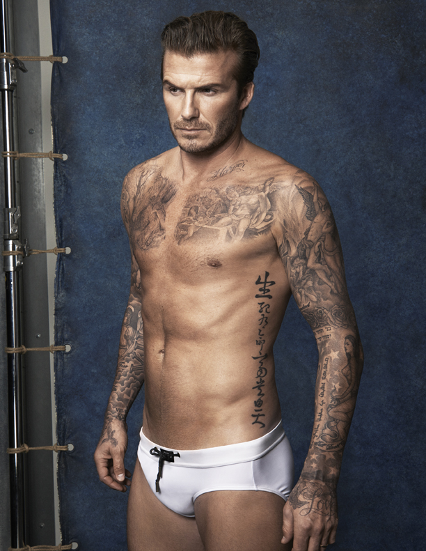 DAVID BECKHAM LAUNCHES H&M SWIMWEAR LINE